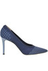 Textured mesh pumps Pollini