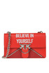 'Love Believe In Your Self' shoulder bag Pinko