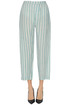 Striped linen trousers Eka