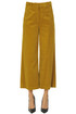 Cropped corduroy trousers Aspesi