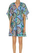 Paisley print linen mini dress JW Anderson