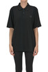 Face-patch cotton polo shirt Acne Studios