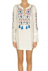 Embroidered cotton dress Tory Burch