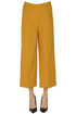 Cropped cotton trousers Keyfit