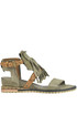 Vintage effect leather sandals A.S. 98