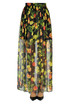 Crepè long skirt MSGM