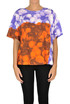 Printed cotton t-shirt Dries Van Noten