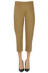 Cropped cotton trousers D.Exterior