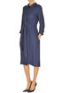 Linen-blend shirt dress S Max Mara