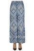 Printed silk trousers Tolani