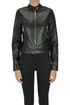 Crocodile print eco-leather jacket Nualy