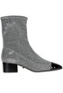 Glittered sock ankle-boots Schutz