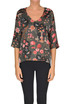 Printed silk blouse Shirtaporter