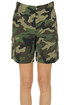 Camouflage print shorts P.A.R.O.S.H.