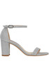 Nearlynude glittered sandals Stuart Weitzman