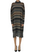 Striped knit dress Max Mara Weekend