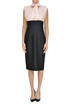 'Giuseppe' bicoloured sheath dress Pinko