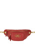 Gancini quilted leather belt bag Salvatore Ferragamo