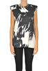 Printed cotton tank top Dries Van Noten
