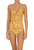 Flower print swimsuit Twin Set Beachwear