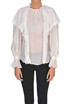 Cotton and silk blouse Elisabetta Franchi