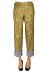 Brocade fabric trousers N.21