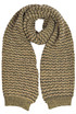 Textured knit scarf with lurex Twinset Milano