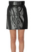Eco-leather mini skirt MSGM