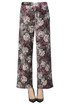 Flower print velvet trousers Le Col Group