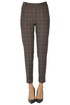Checked print trousers Kiltie
