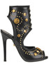 Studded leather sandals Fausto Puglisi