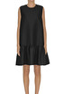 Textured fabric dress MSGM