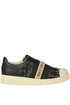 Sneakers slip on in pelle MOA Master of Arts