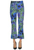 Flower print trousers Massimo Alba