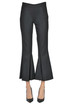 Crooped wool trousers Marco De Vincenzo