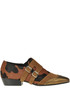 Animal print haircalf shoes Marc Ellis