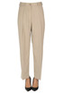 Pointe cotton trousers Dries Van Noten