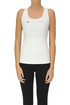 Techno fabric sports tank top Adidas by Stella Mccartney