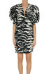 Animal print silk dress Isabel Marant