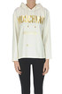 Hooded sweatshirt Moschino Couture