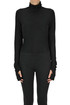 Ribbed turtleneck body MM6 by Maison Martin Margiela
