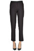 Enrico pinstriped trousers Pinko