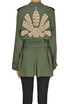 Embellished safary jacket Dondup