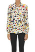 Printed viscose shirt Moschino Boutique