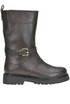 Leather biker boots Twin-set  Simona Barbieri