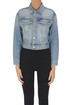 Cropped denim jacket Mother