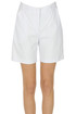 Cotton-blend shorts Twinset Milano