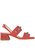 Studded suede sandals Alberto Gozzi