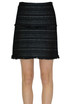 Textured fabric mini skirt Michael Michael Kors