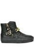 Quilted leather ankle-boots Scervino street